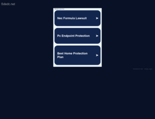 sdedc.net screenshot