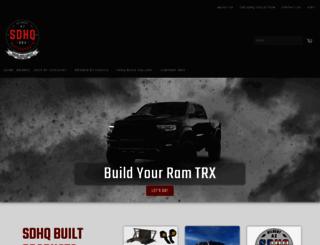 sdhqoffroad.com screenshot