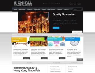sdigital-components.com screenshot