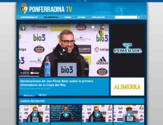 sdponferradina.tv screenshot
