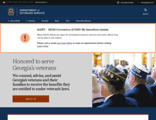 sdvs.georgia.gov screenshot