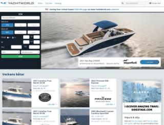 se.yachtworld.com screenshot