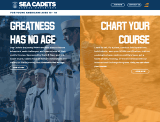 seacadets.org screenshot