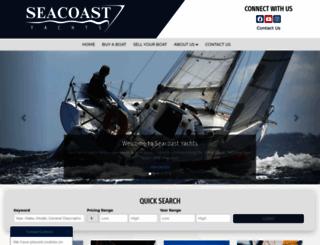 seacoastyachts.com screenshot
