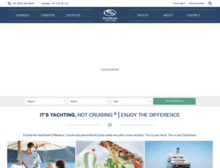 seadreamyachtclub.com screenshot
