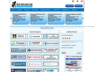 seafarerjobs.com screenshot
