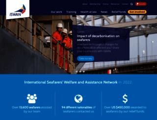 seafarerswelfare.org screenshot