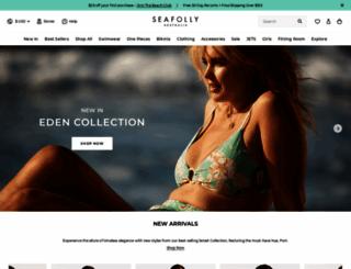 seafolly.com screenshot