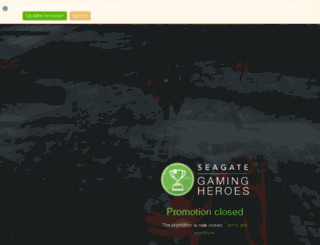 seagateapp.com screenshot
