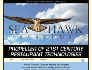 seahawk-systems.com screenshot