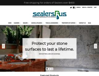 sealersrus.com screenshot