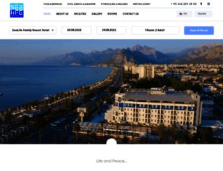 sealifehotel.com screenshot