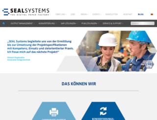 sealsystems.de screenshot
