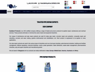 sealxpert.com screenshot