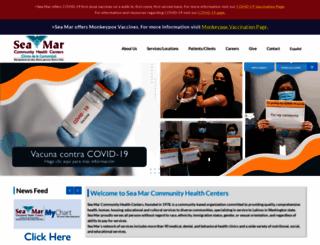 seamar.org screenshot