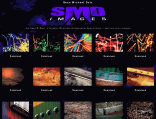 seandatz.com screenshot