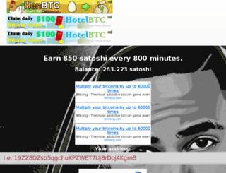 seanfaucet.co screenshot