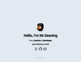 seaning.com screenshot