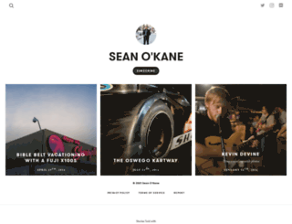 seanokane.exposure.co screenshot
