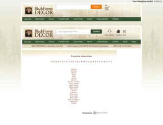 search.blackforestdecor.com screenshot