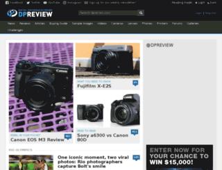search.dpreview.com screenshot