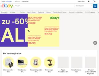 search.ebay.de screenshot