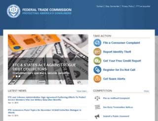 search.ftc.gov screenshot