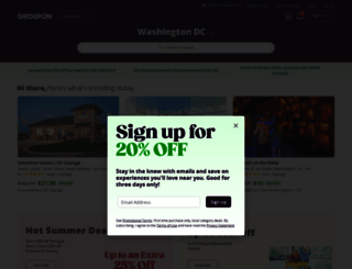 search.groupon.co.in screenshot