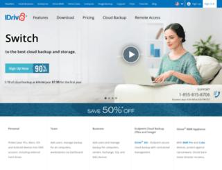 search.idrive.com screenshot