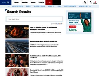 search.kare11.com screenshot