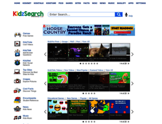 search.kidzsearch.com screenshot