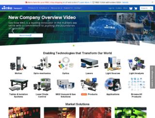 search.newport.com screenshot