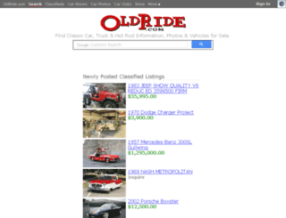 search.oldride.com screenshot
