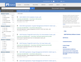 search.qad.com screenshot