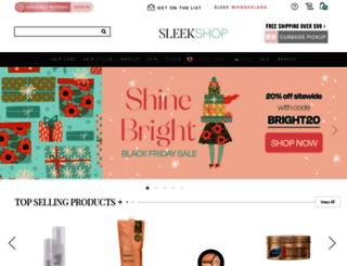 search.sleekhair.com screenshot