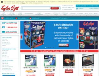 search.taylorgifts.com screenshot