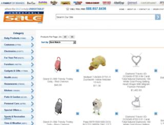 search.unbeatablesale.com screenshot