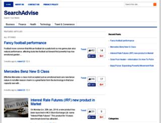 searchadvise.com screenshot