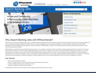 searchbankingjobs.com screenshot