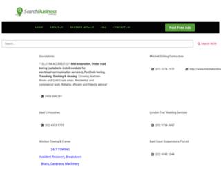 searchbusiness.com.au screenshot