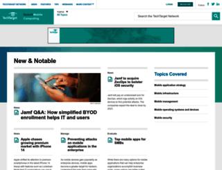 searchconsumerization.techtarget.com screenshot