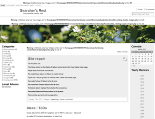 searchersrest.net screenshot