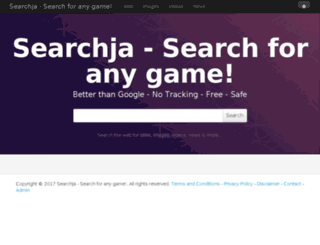 searchja.com screenshot