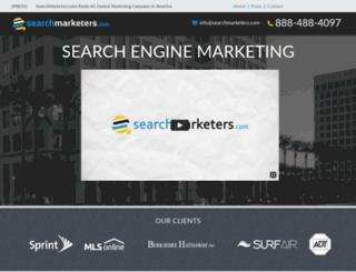 searchmarketers.com screenshot