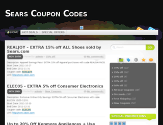 searcoupon.com screenshot