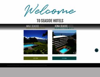 seasidehotelshawaii.com screenshot