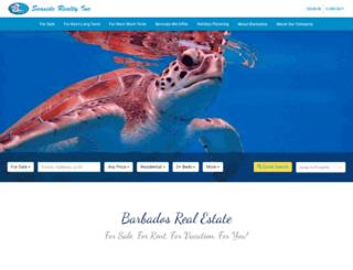 seasiderealtybarbados.com screenshot