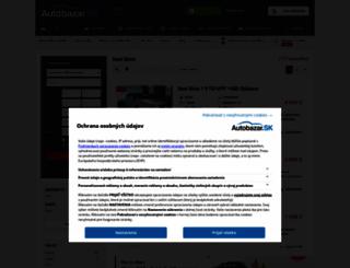 seat-ibiza.autobazar.sk screenshot