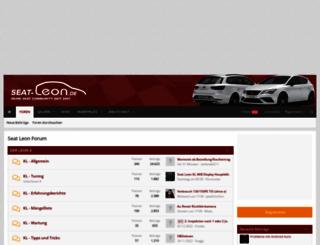 seat-leon.de screenshot