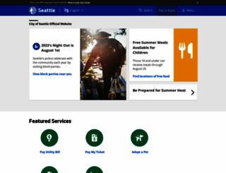 seattle.gov screenshot